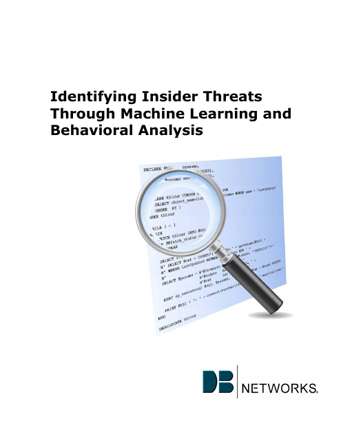 image from Identifying Insider Threats Through Machine Learning and Behavioral Analysis