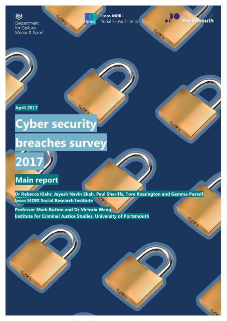 image from Cyber Security Breaches Survey