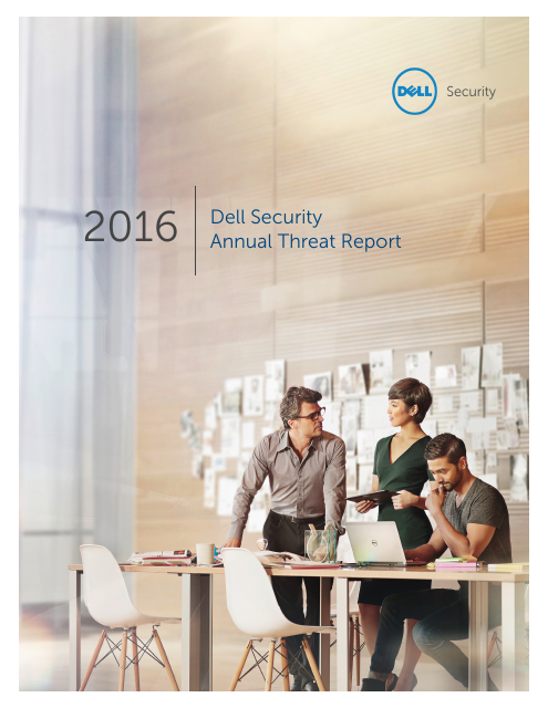 image from Dell Security Annual Threat Report 2016