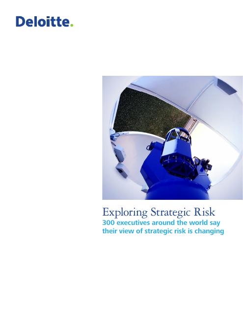 image from Exploring Strategic Risk