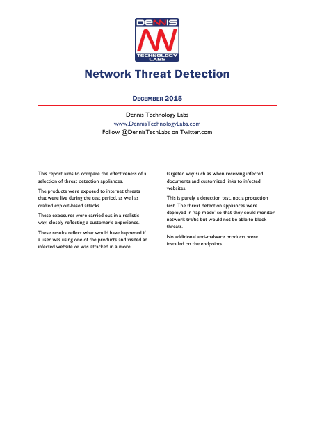 image from Network Threat Detection
