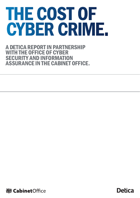 image from The Cost of Cyber Crime