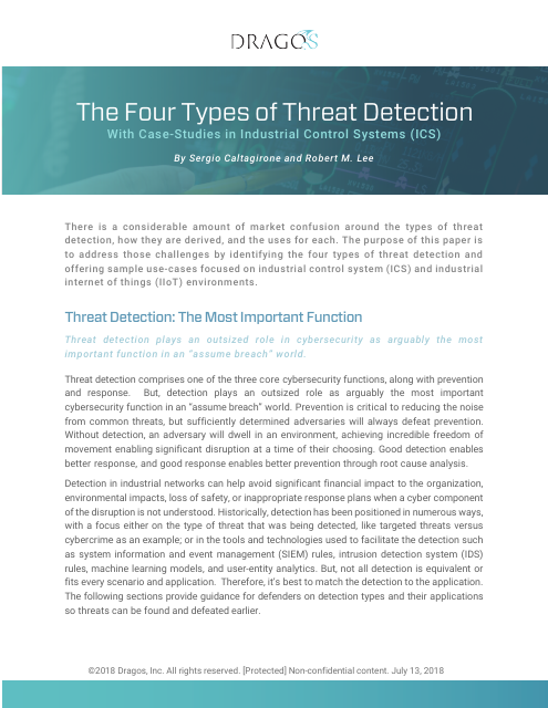 image from The Four Types Of Threat Detection