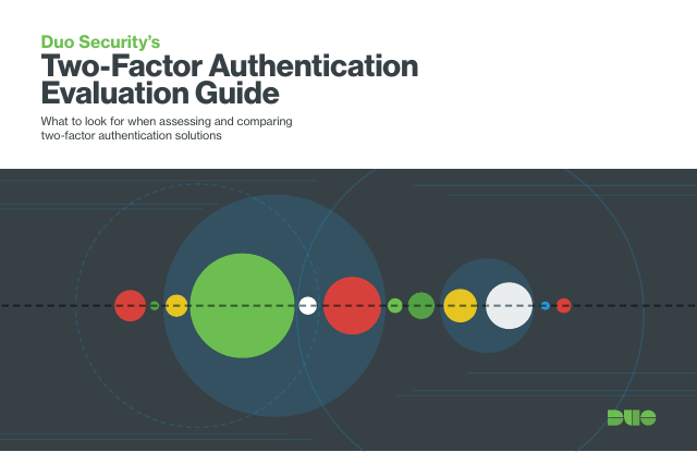 image from Duo Security's Two Factor Evaluation Guide