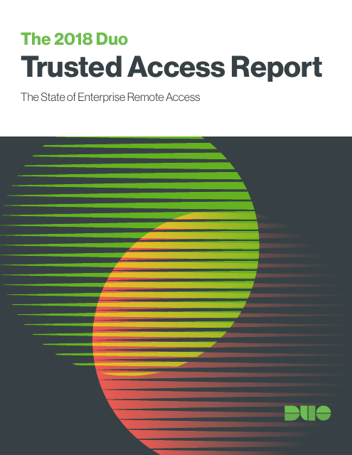 image from Trusted Access Report 2018