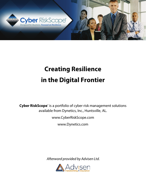 image from Creating Resilience in the Digital Frontier