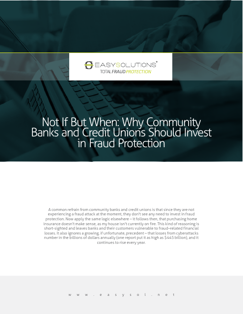 image from Not If But When: Why Community Banks and Credit Unions Should Invest In Fraud Protection