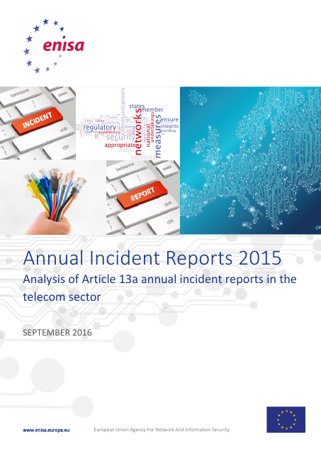image from Annual Incident Reports 2015