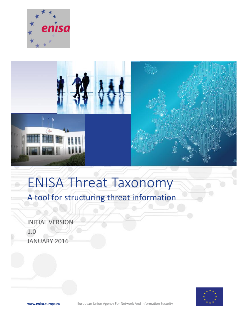image from ENISA Threat Taxonomy: A tool for structuring threat information.pdf
