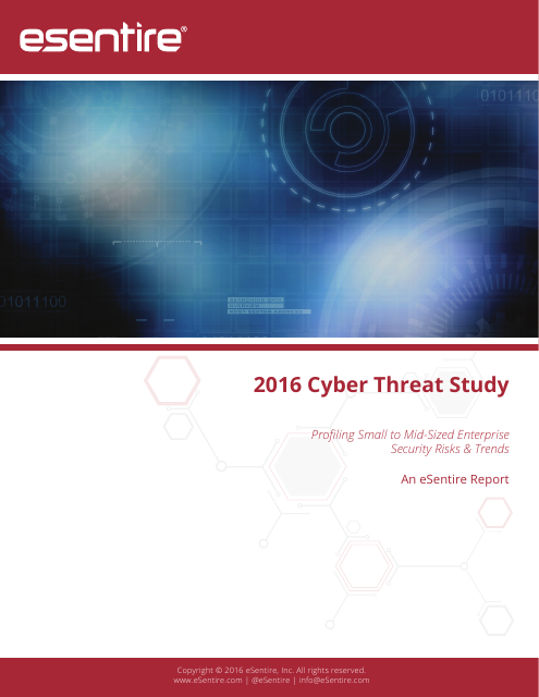 image from 2016 Cyber Threat Study