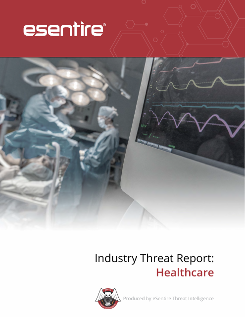 image from Industry Threat Report: Healthcare