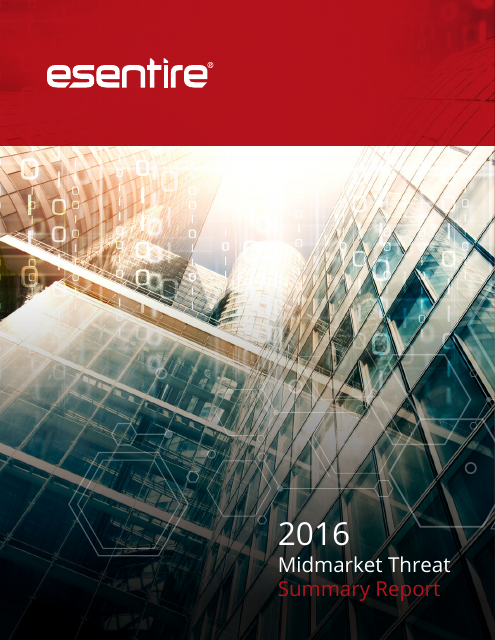 image from 2016 Midmarket Threat Summary Report