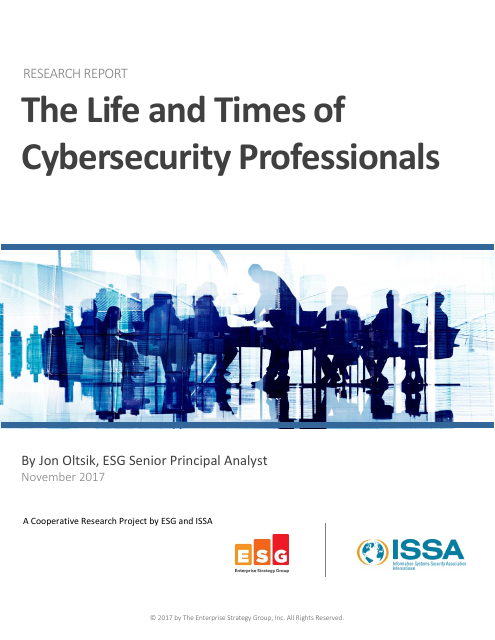 image from The Life And Times Of Cybersecurity Professionals