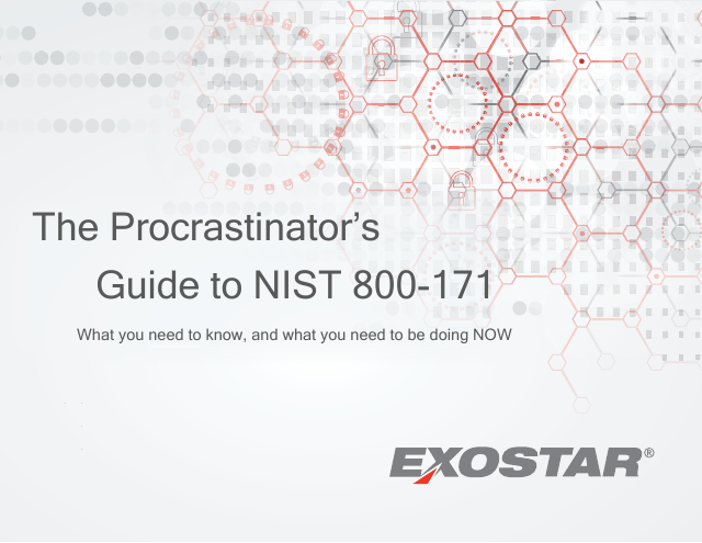 image from The Procrastinator's Guide To NIST-800-171