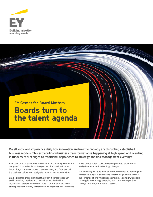 image from Boards Turn To The Talent Agenda