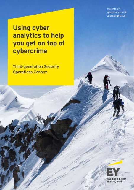 image from Using cyber analytics to help you get on top of cybercrime: Third-generation Security Operations Centers