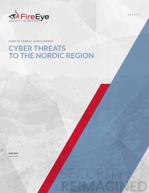 image from Cyber Threats to the Nordic Region