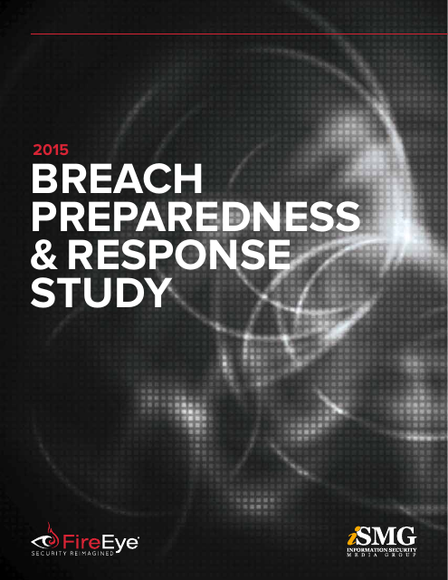 image from 2015 Breach Preparedness and Response Study