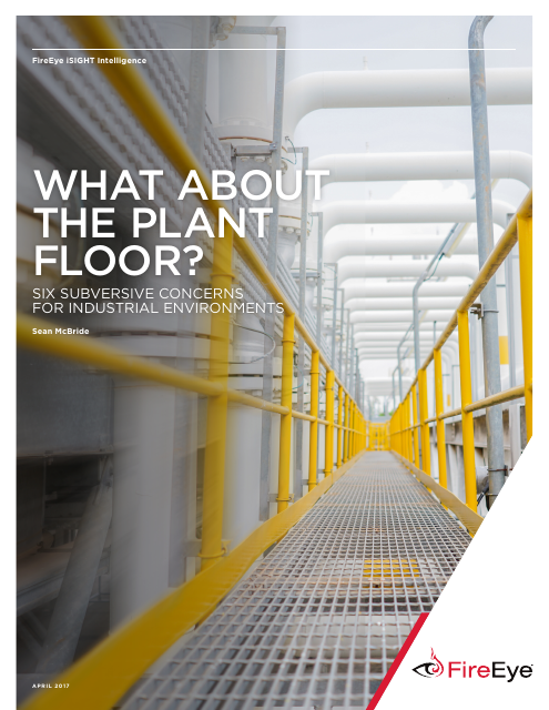image from What About The Plant Floor: Six Subversive Concerns For Industrial Environments