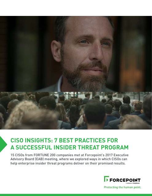 image from CISO Insights: 7 Best Practices For A Successful Insider Threat Program
