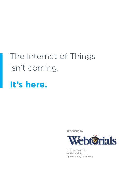 image from The Internet Of Things Isn't Coming, It's Here