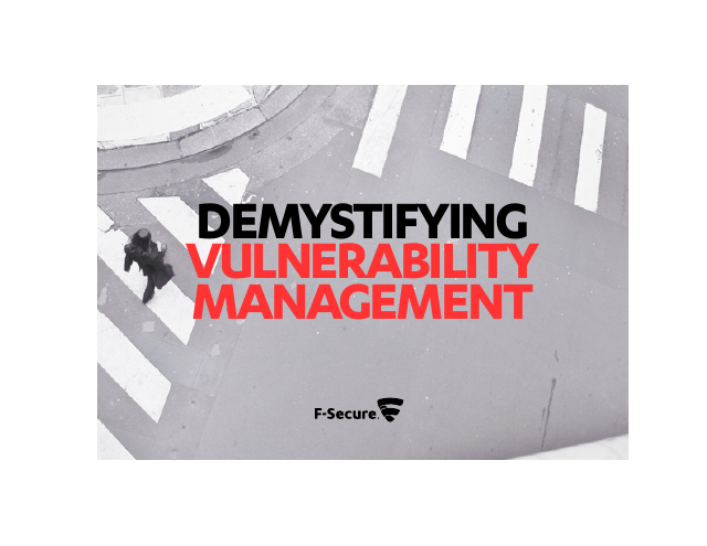 image from Demystifying Vulnerabilitiy Management