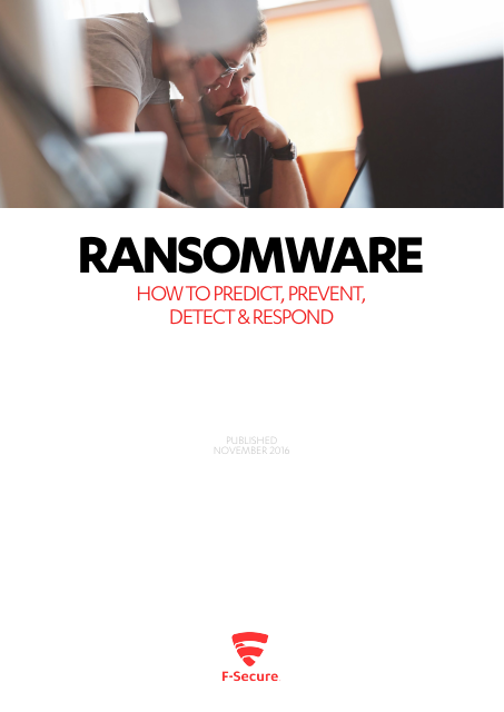 image from Ransomware:How To Predict, Prevent, Detect And Respond