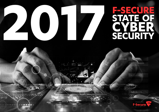 image from FSecure 2017 State Of Cyber Security