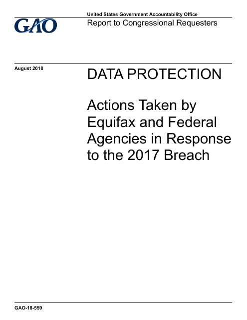 image from Actions Taken by Equifax and Federal Agencies in Response to the 2017 Breach