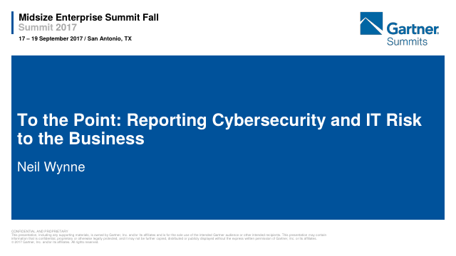 image from To The Point: Reporting Cybersecurity and IT Risk to the Board