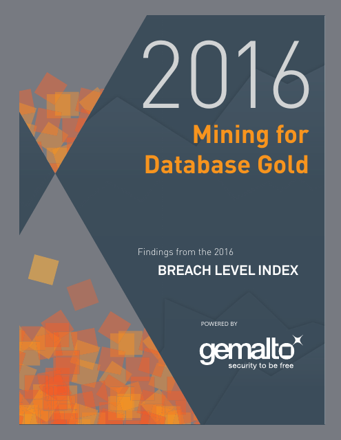 image from 2016 Mining for Database Gold: Findings from 2016 Breach Level Index