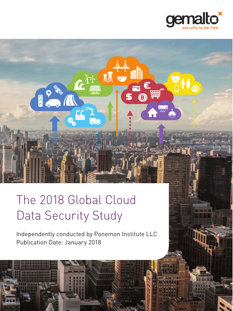 image from The 2018 Global Cloud Data Security Study