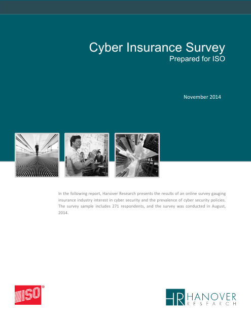 image from Cyber Insurance Survey 2014