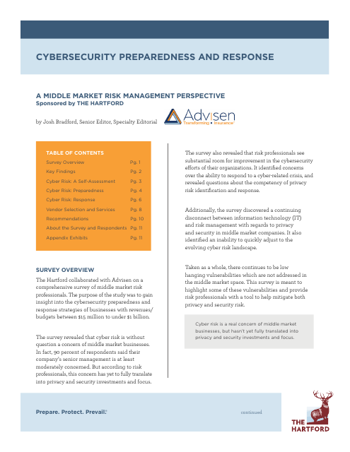 image from Cybersecurity Preparedness and Response