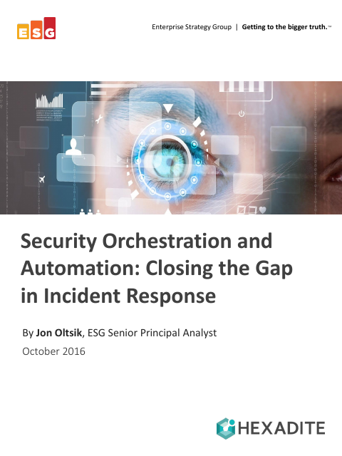 image from Security Orchestration and Automation: Closing The Gap in Incident Response