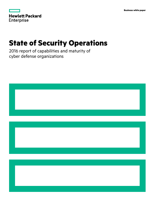 image from 2016 State of Security Operations
