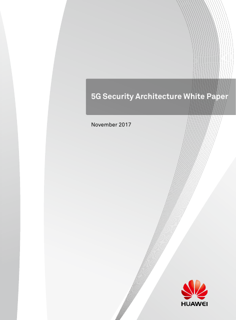 image from 5G Security Architecture White Paper