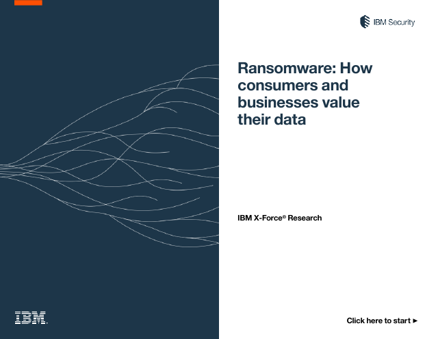 image from Ransomware: How Consumers And Businesses Value Their Data
