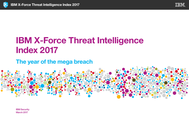 image from X-Force Threat Intelligence Index 2017