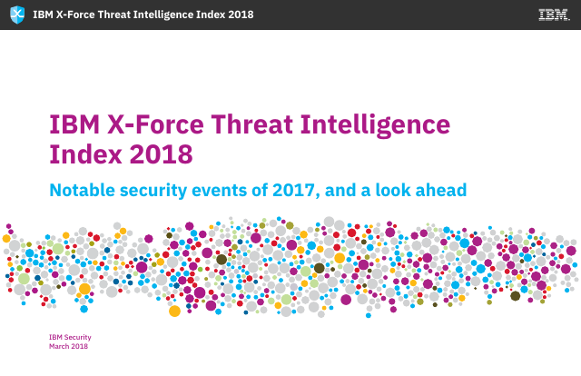 image from X-Force Threat Intelligence Index 2018
