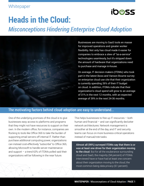 image from Heads In The Cloud: Misconceptions Hindering Enterpise Cloud Adoption