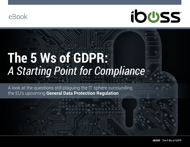 image from The 5 W's of GDPR: A Starting Place For Compliance