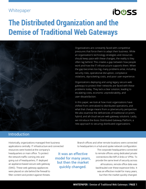 image from The Distributed Organization And The Demise Of Traditional Web Gateways