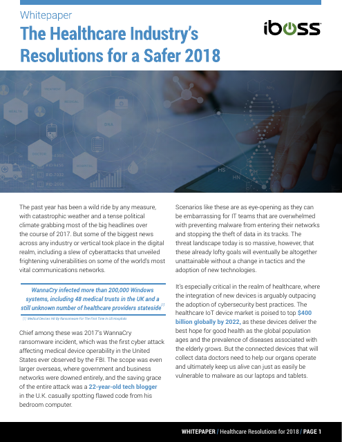 image from The Healthcare Industry's Resolutions For A Safer 2018