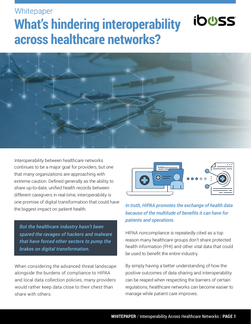 image from What's Hindering Interoperability Across Healthcare Networks