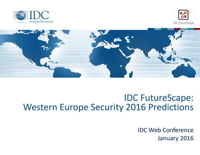 image from Western Europe Security 2016 Predictions