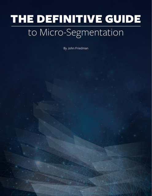 image from The Definitive Guide To Micro Segmentation