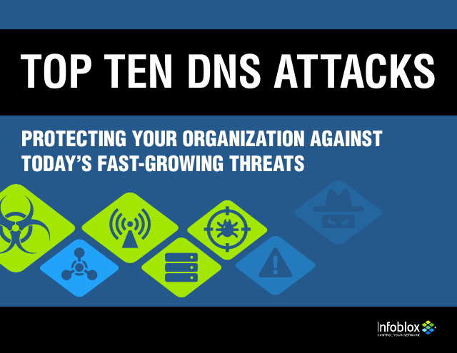 image from Top Ten DNS Attacks