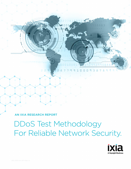 image from DDoS Test Methodology For Reliable Network Security