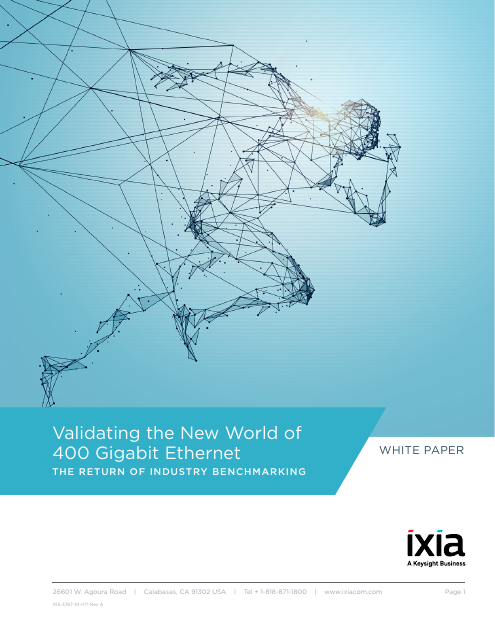 image from Validating The New World Of 400 Gigabit Ethernet: The Return Of Industry Benchmarking
